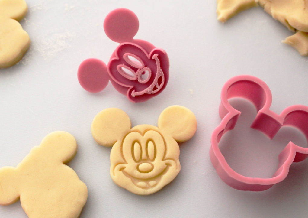 Disney Mickey Mouse Amp Minnie Mouse Cookie Cutter Huuphuup