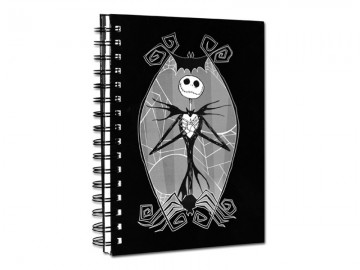 The Nightmare Before Christmas notebook (A5)