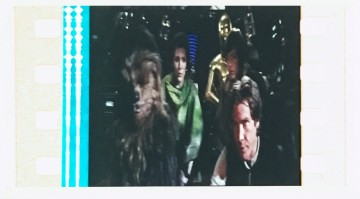 Star wars boekenlegger filmstrip return of the jedi 06b chewbacca leia c 3p0 luke en han