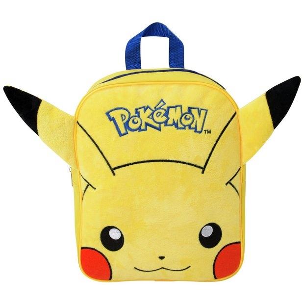 1cb7296f301 Pokémon Pikachu rugzak pluche - HuupHuup