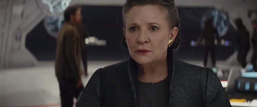 Star Wars: The Last Jedi - Leia
