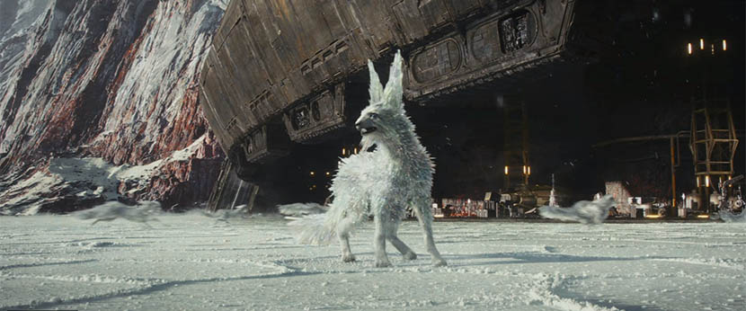 Star Wars: The Last Jedi - white fox