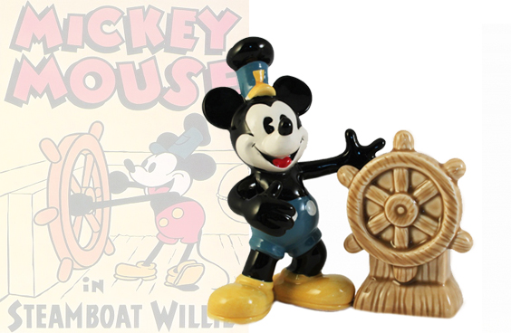 Steamboat Willie peper en zoutstel